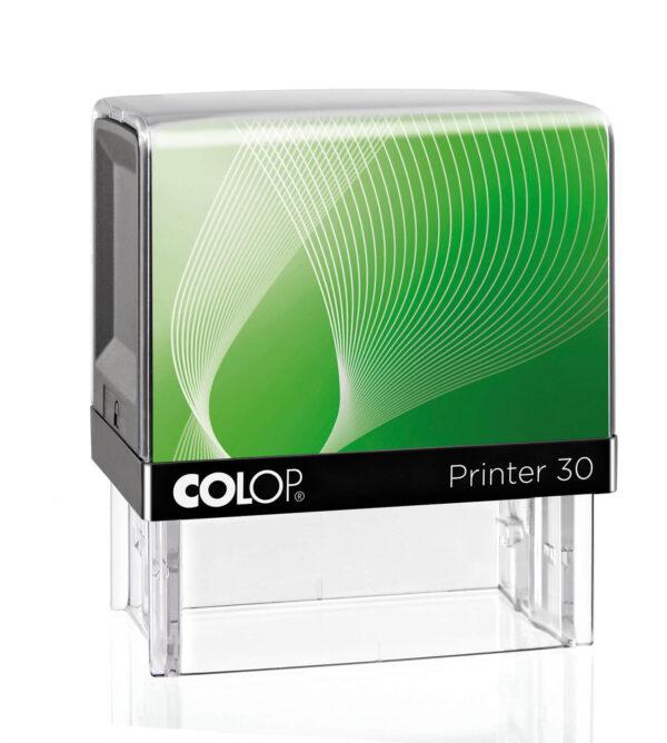 pieczątka Colop IQ30 zielono-czarna