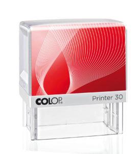 Pieczątka Colop IQ 30 biało-czerwona