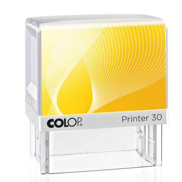 Colop IQ 30 biało-żółty