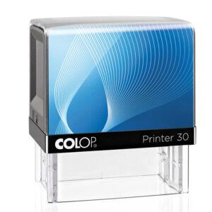 Pieczatka Colop IQ 30 czarno-niebieska