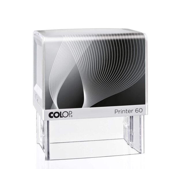pieczątka Colop IQ 60 biało-czarna