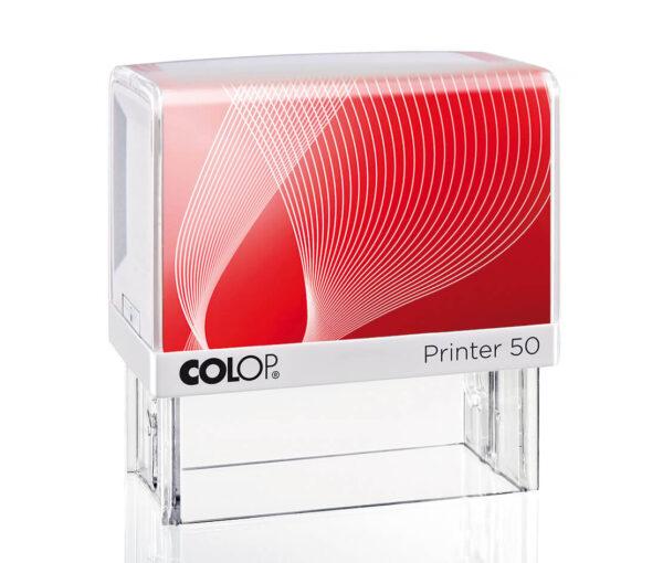 Colop IQ 50 biało-czerwony