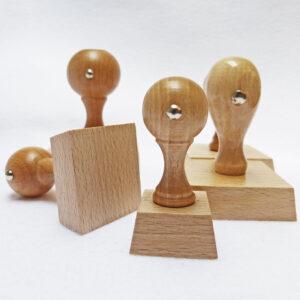 Stemple drewniane kwadratowe