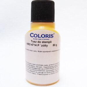 Tusz Coloris 4714 zolty