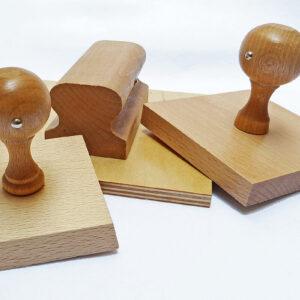 Najwieksze stemple drewniane kwadratowe