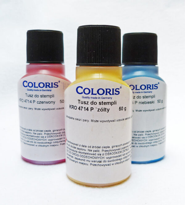 Tusze Coloris 4714 wodoodporne