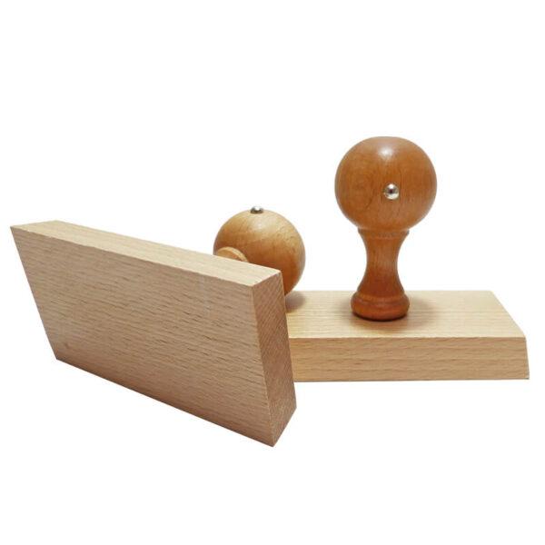 Stempel drewniany 100x50 mm