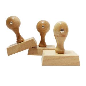 Stempel drewniany 60x40 mm