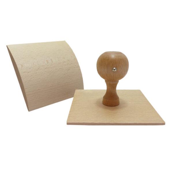 stempel drewniany kołyska 100x105mm