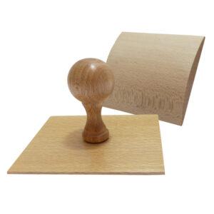 stempel drewniany kołyska 100x95mm