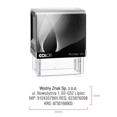 pieczątka firmowa Colop IQ 20