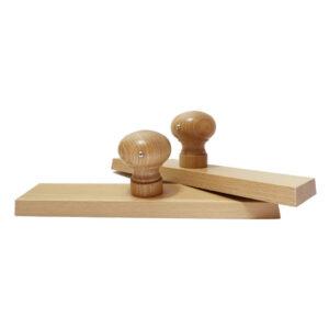 Stempel drewniany płaski 240x50 mm