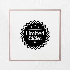 stempel drewniany sprzedażowy wzór limited edition