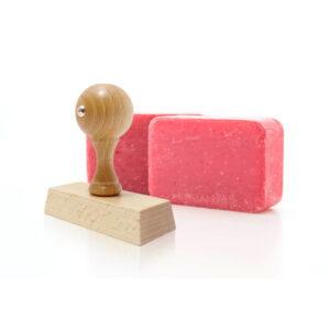 Stempel do mydła lub gliny