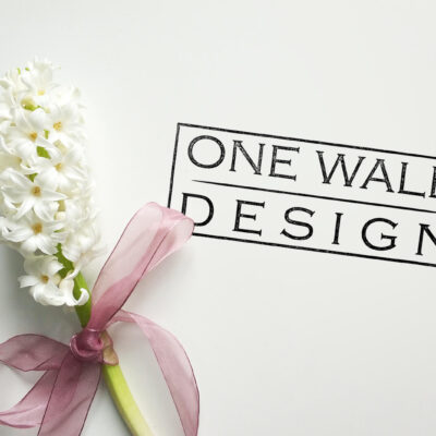 one wall design